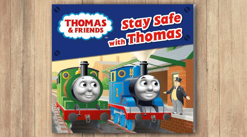Thomas the Tank Engine educates nursery children on rail safety