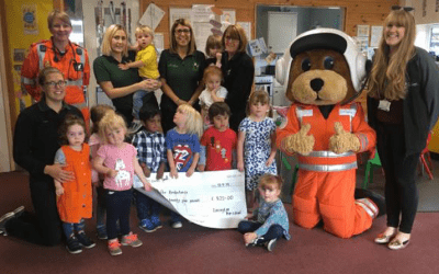 Lavington Pre-School raises money in memory of colleague