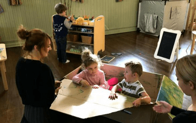 New pre-school has successful week after opening its doors