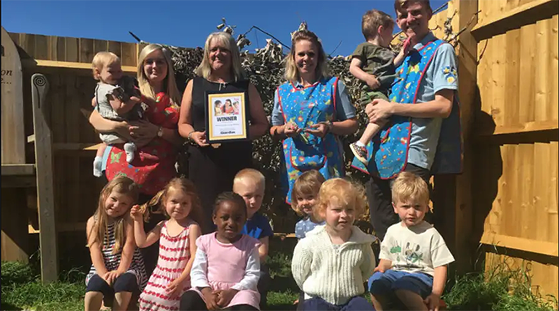 Banbury School Day Nursery in a race to win a national award