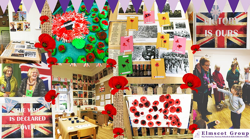Broussa Day Nursery welcomes special guests to Remembrance afternoon