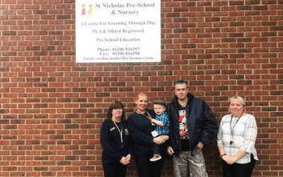 St Nicholas Nursery saves child having a seizure