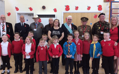 Veterans visit nursery in Clacton