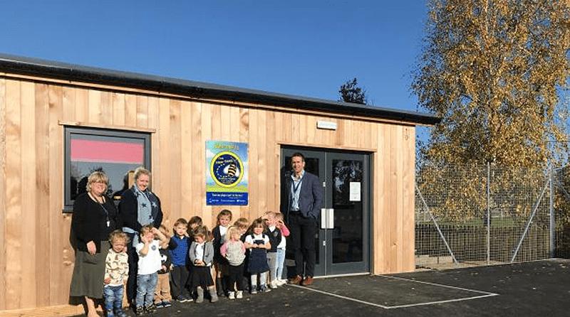 Stretton Sugwas Church of England Academy opens a new pre-school