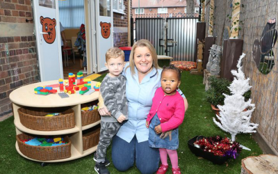 New extension and outdoor area for Sneinton nursery