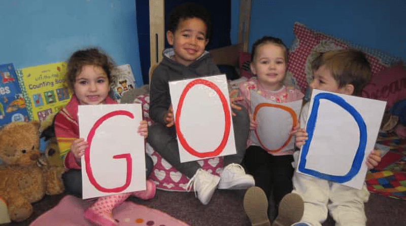 Pebbles pre-school in Southsea rated 'good' in their first inspection