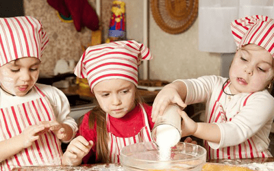 Children learn about Bulgarian culture at Bright Horizons Nursery and Pre-school