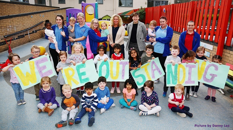 """Letchworth nursery rated """"outstanding"""" for the second time"""