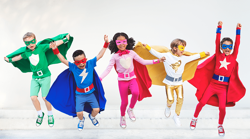 How practitioners can support children's superhero play