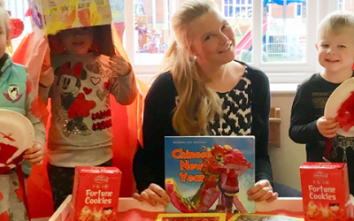 Elmscot Day Nursery Nantwich, Celebrates Chinese New Year in style