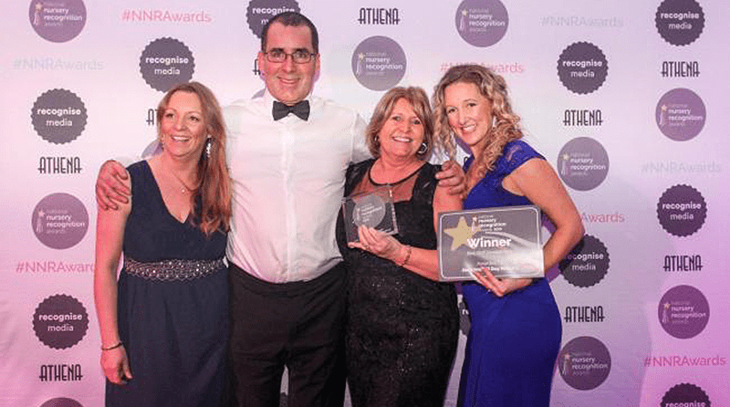 Top industry award for Jack and Jill Day Nursery in Wirral