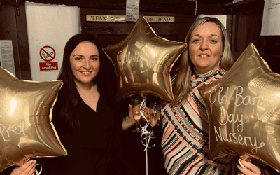 Local nurseries' 'Outstanding' celebration evening is a resounding success