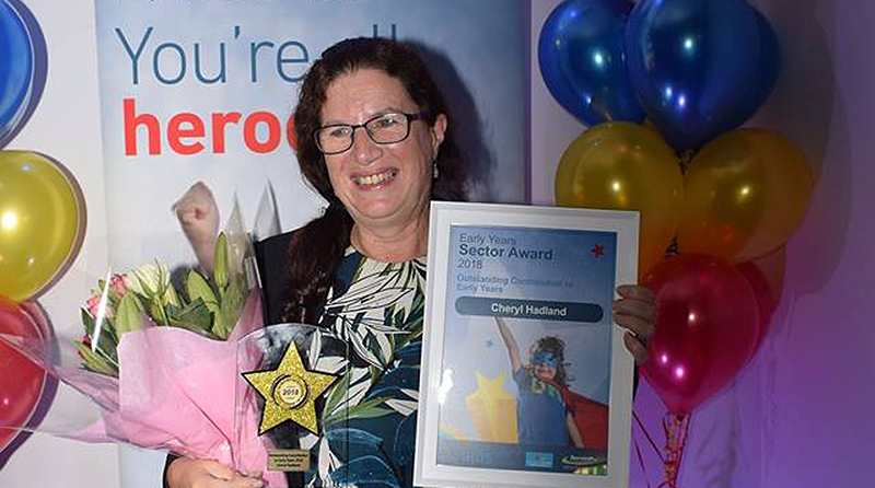 Tops recognised at Bournemouth Early Years Awards evening