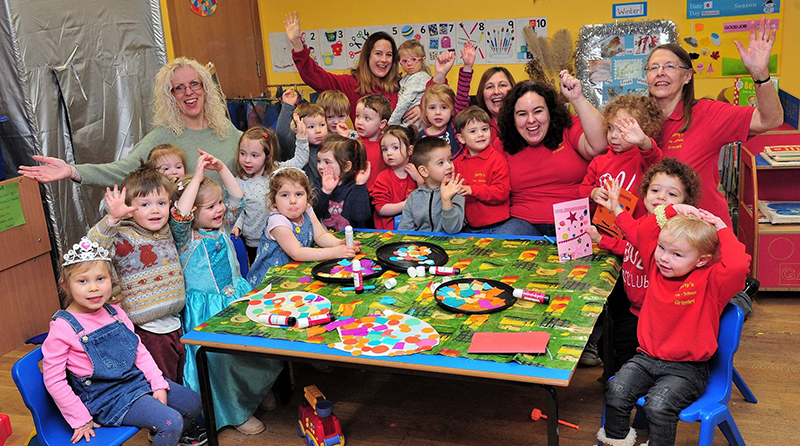 """Outstanding"" preschool in Grimley"