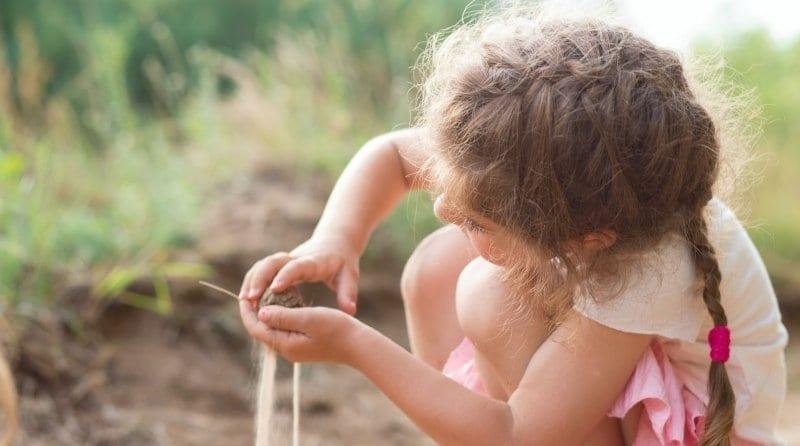 Clacton pre-school raised funds to build a sensory garden
