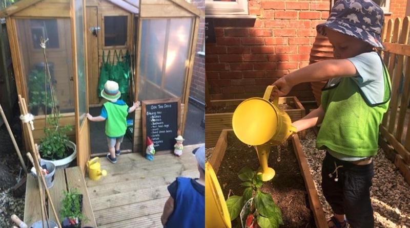 Finchampstead nursery opens 'Oak Tree Oasis' garden