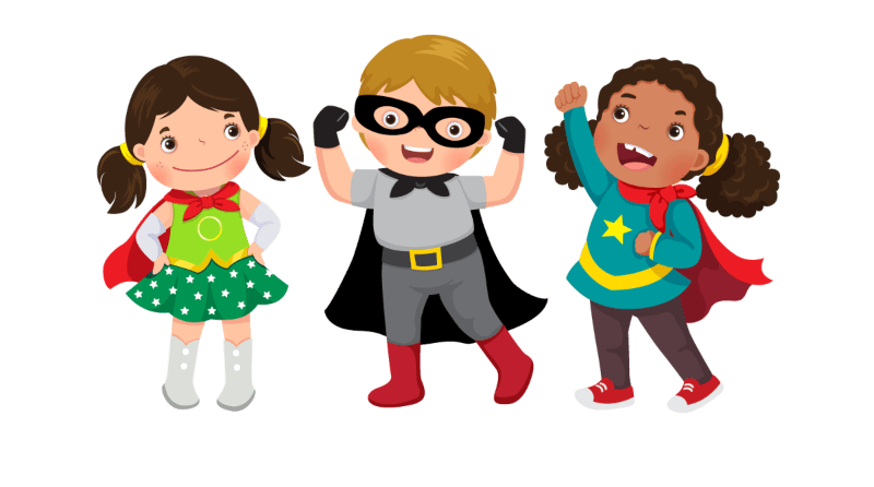 Calling all superheroes: managing their play
