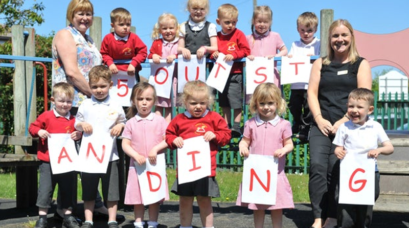 Sunderland nursery receives top Ofsted rating for the 5th time!