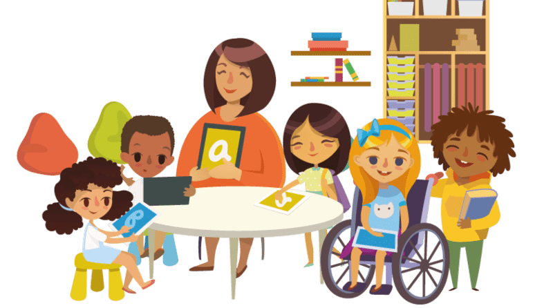 Helping children to accept those with additional needs