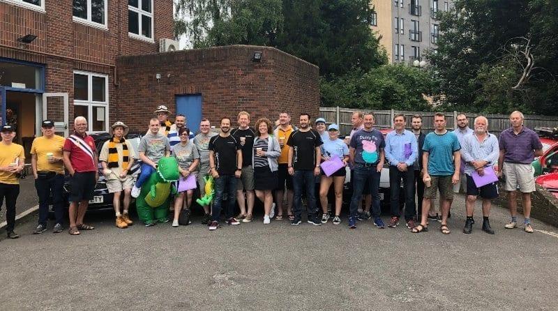 The Parenta Trust rally teams return triumphant