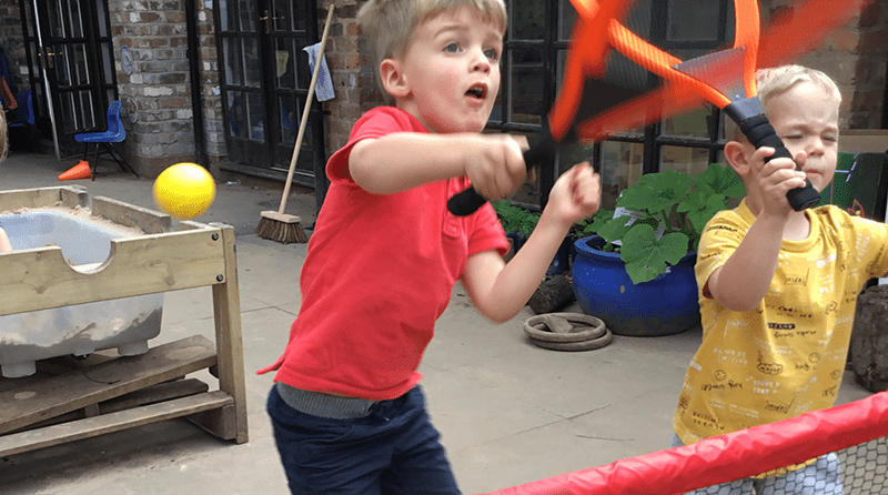 Elmscot Hale Day Nursery – Game, set match!