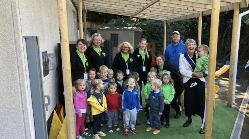 Children at Dilton Marsh pre-school to get more outdoor play