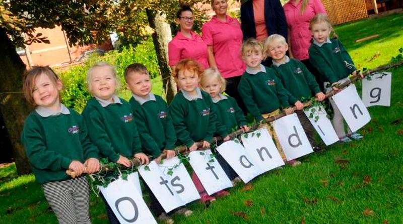 Outstanding nursery in Winwick