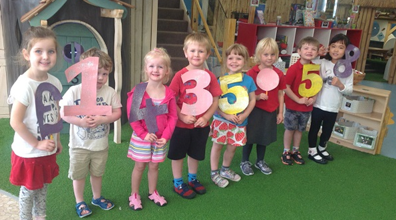 Nursery raises important funds for cancer charity
