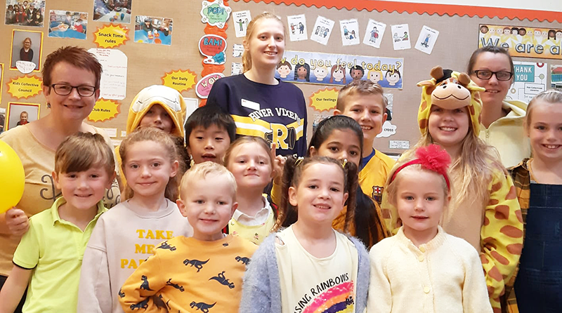 Not so mellow yellow – Cheshire childcare group supports World Mental Health Day