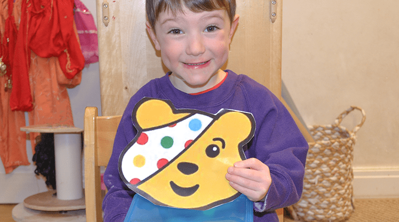 From the heart – generous Hale pre-schooler donates entire money box to Children in Need