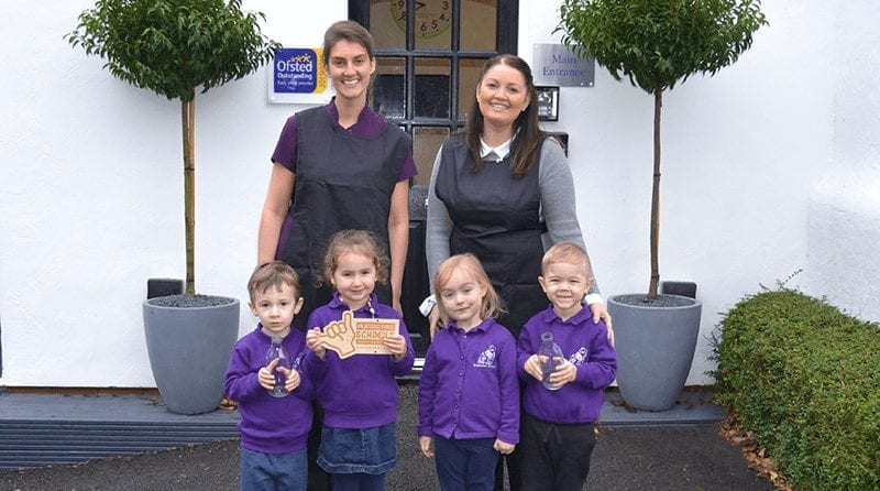 Hale nursery becomes first in region to achieve plastic free status