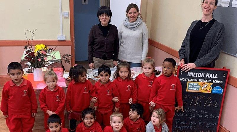 Milton Hall Montessori raises money for Children in Need