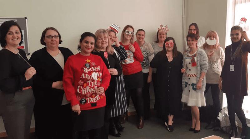 Lisa Kempster's Christmas party 2019