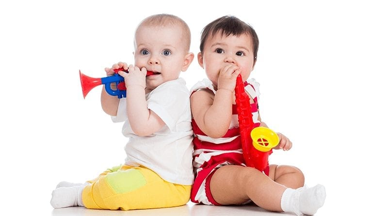 Changes in your little one's musical behaviour