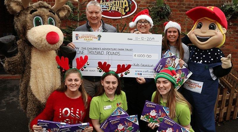 School clubs bring Christmas joy to local disadvantaged children