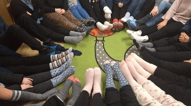 Christmas Sock Cheer for the homeless and those in need