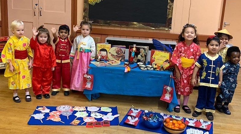 Milton Hall Montessori celebrates Chinese New Year