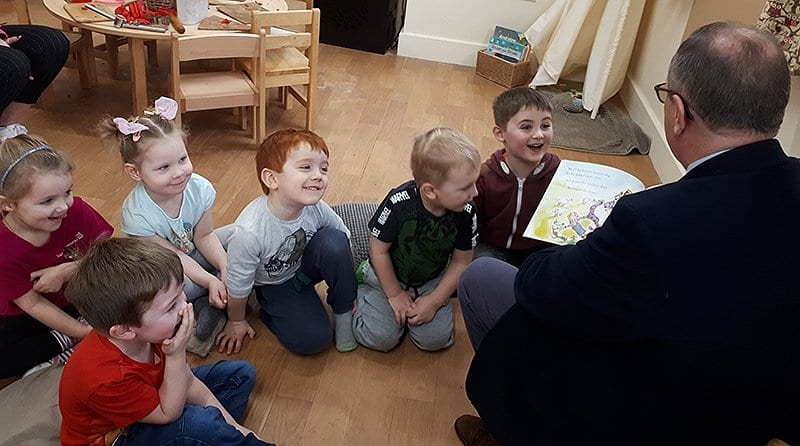 MP pledges support for local childcare providers