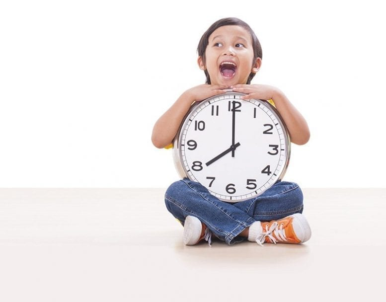 How to help young children understand time