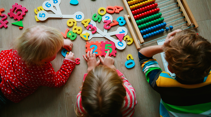 5 sign of a secure pre-school child