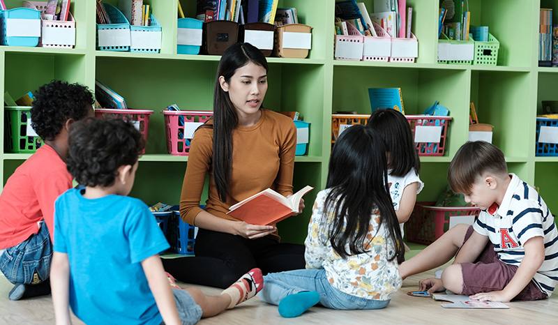Ways to support young children with English as an additional language