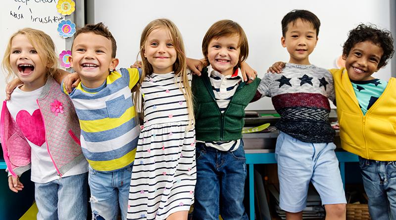 Help children of different ethnicities feel a sense of belonging
