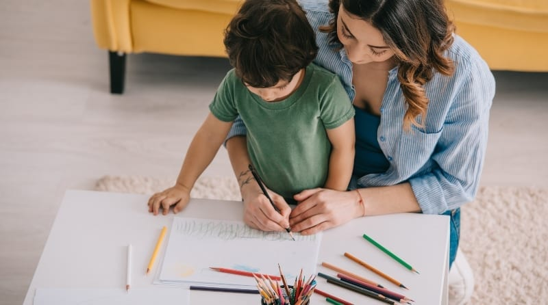 Wellbeing activities that support home-school learning