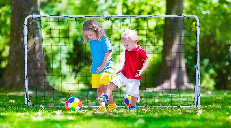 Free sports class for all children attending a nursery in England