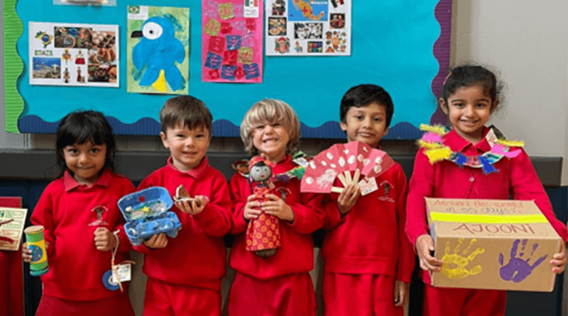 Milton Hall Montessori summer project – Around the World in 55 days